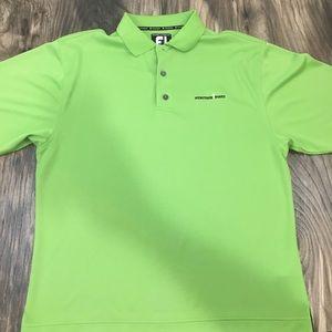 FJ Footjoy Prodry Superlite golf polo shirt Large